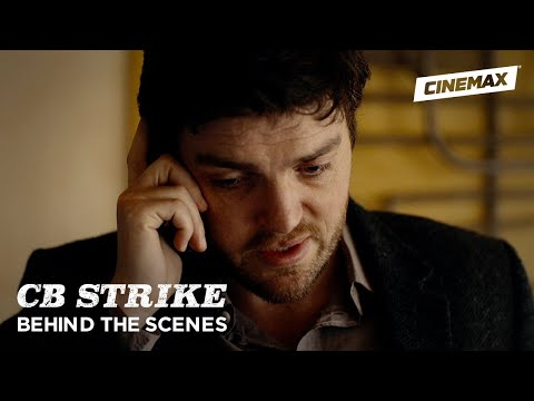 "C.B. Strike | ""Career of Evil"" Behind the Scenes 