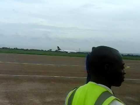Arrivée de air Burkina