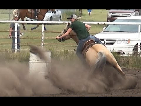 Barrel Racing series #2 from McHenry County Saddle Club