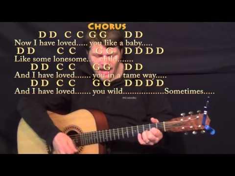Seven Bridges Road (Eagles) Guitar Cover Lesson with Chords/Lyrics