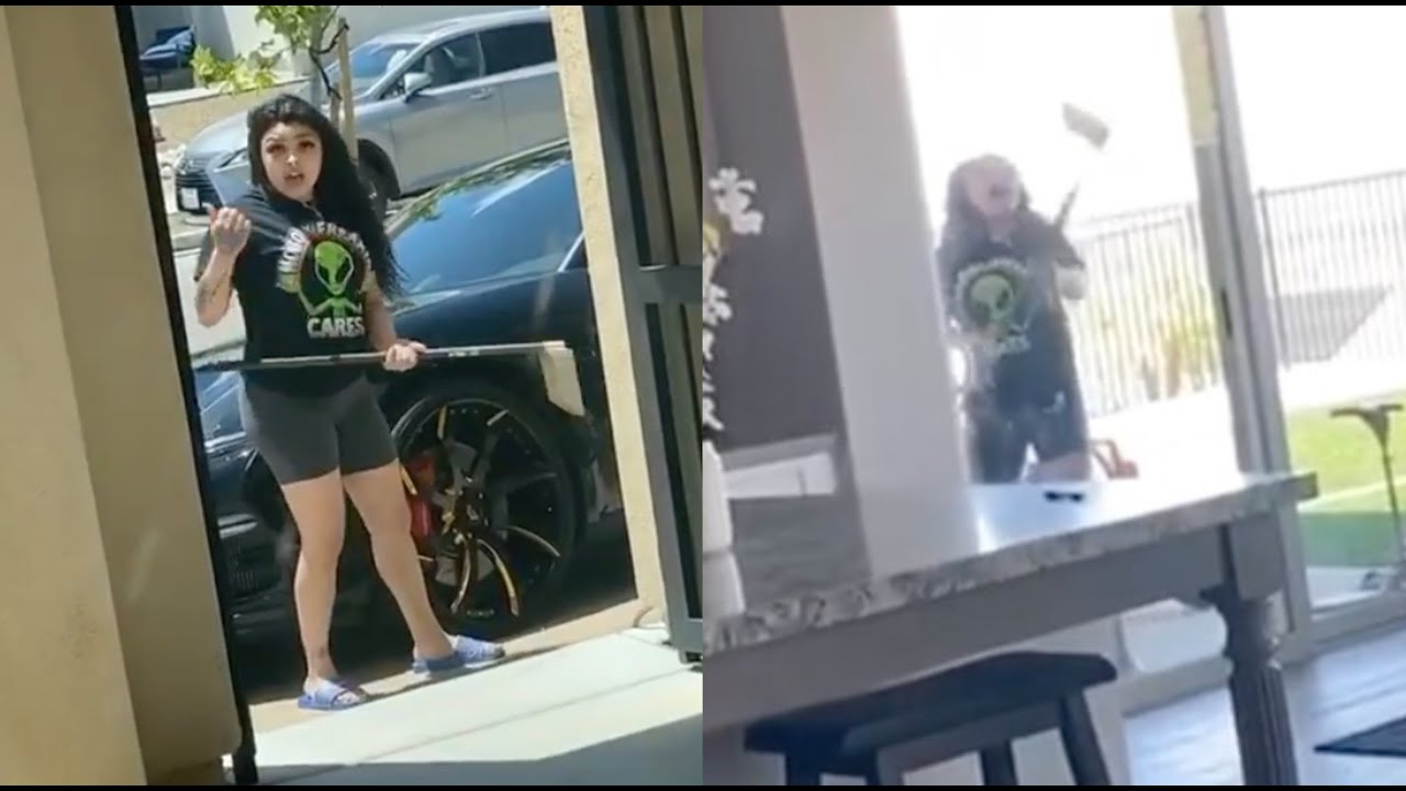 Download Blueface Locks Baby Mama Out House! Tries To Bust His Porsche Windows