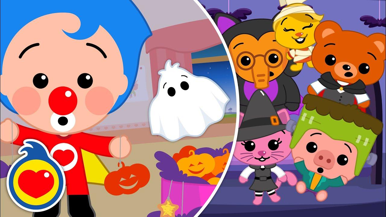 O Fantasma 👻  E Mais Música Infantil De Halloween - Dias Das Bruxas ♫ Um Herói do Coração