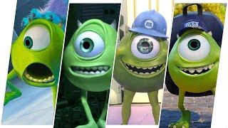 Mike Wazowski Evolution (Monsters, Inc.)