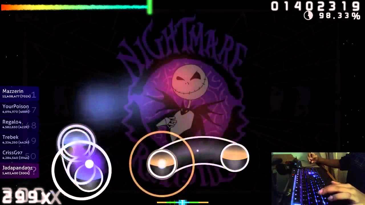 Osu! Rise Against - Making Christmas [Nightmare] IM SO DONE! - YouTube