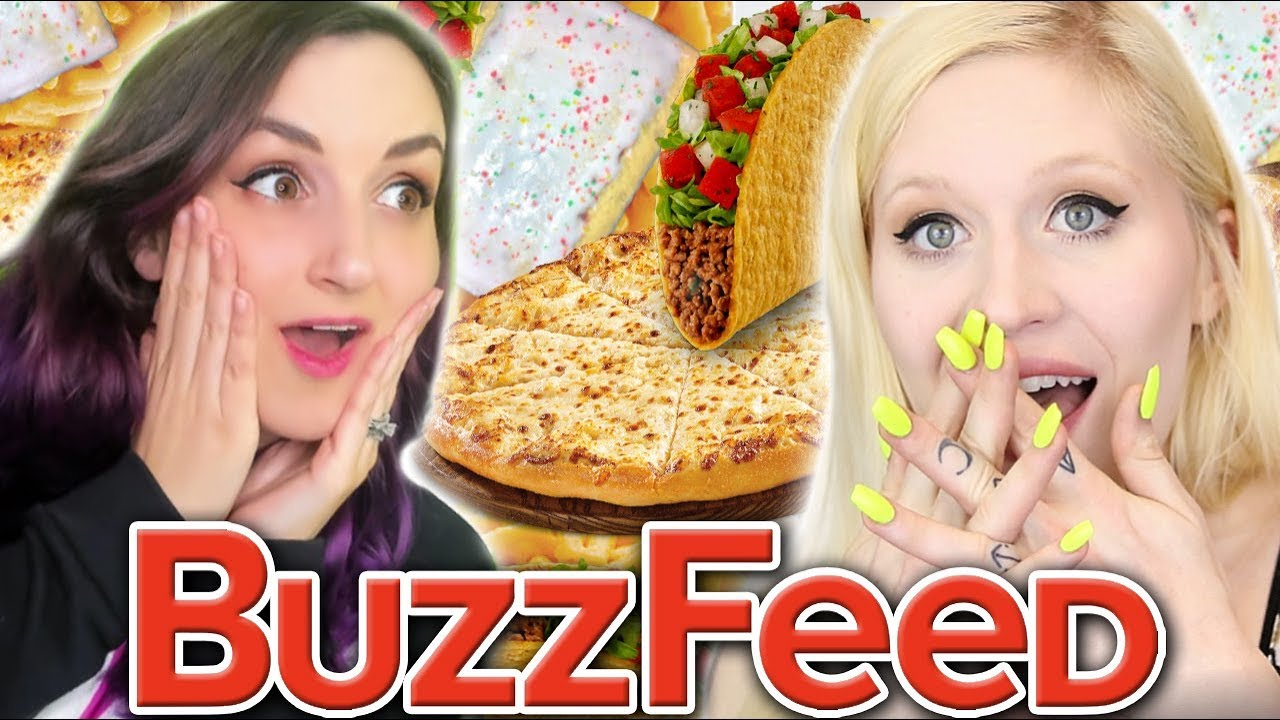 Tacos Predict Our Love Lives?! | Weird Buzzfeed Food Quizzes w/ Cybernova