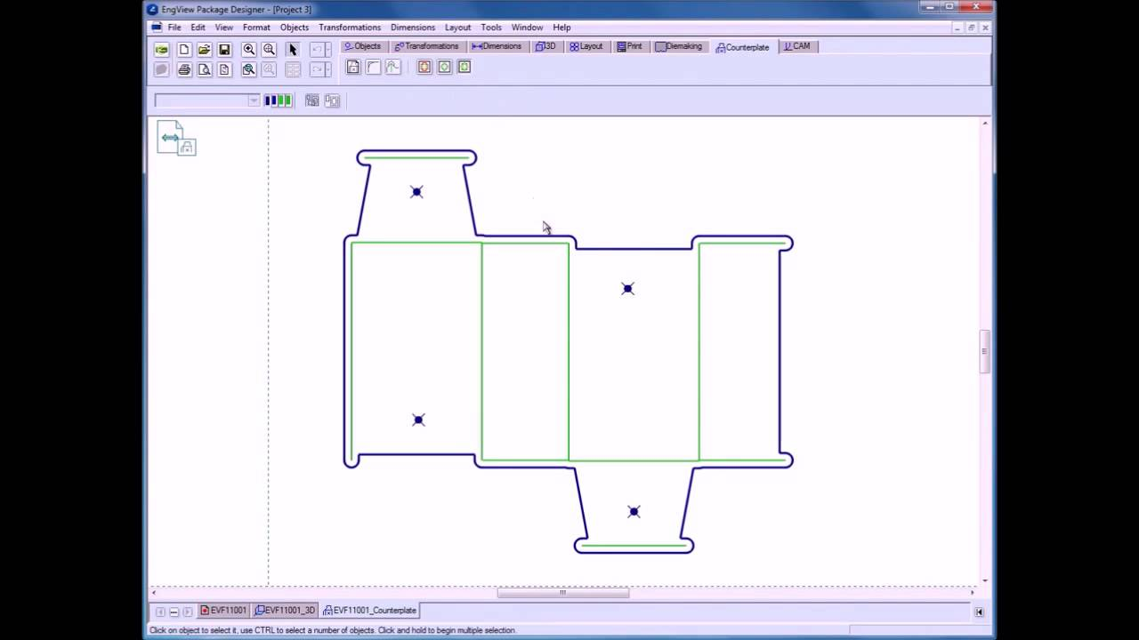 Counterplate Design | EngView packaging software | v 6