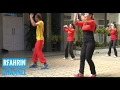 43 non stop Aerobic pemula Q'cantik senam membuat tubuh ideal | exercise makes the body ideal