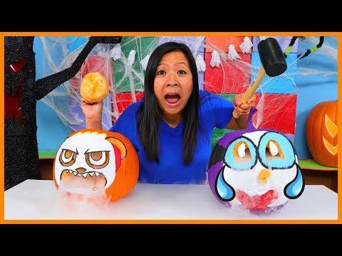 Halloween Pumpkin Carving & Decoration Challenge !