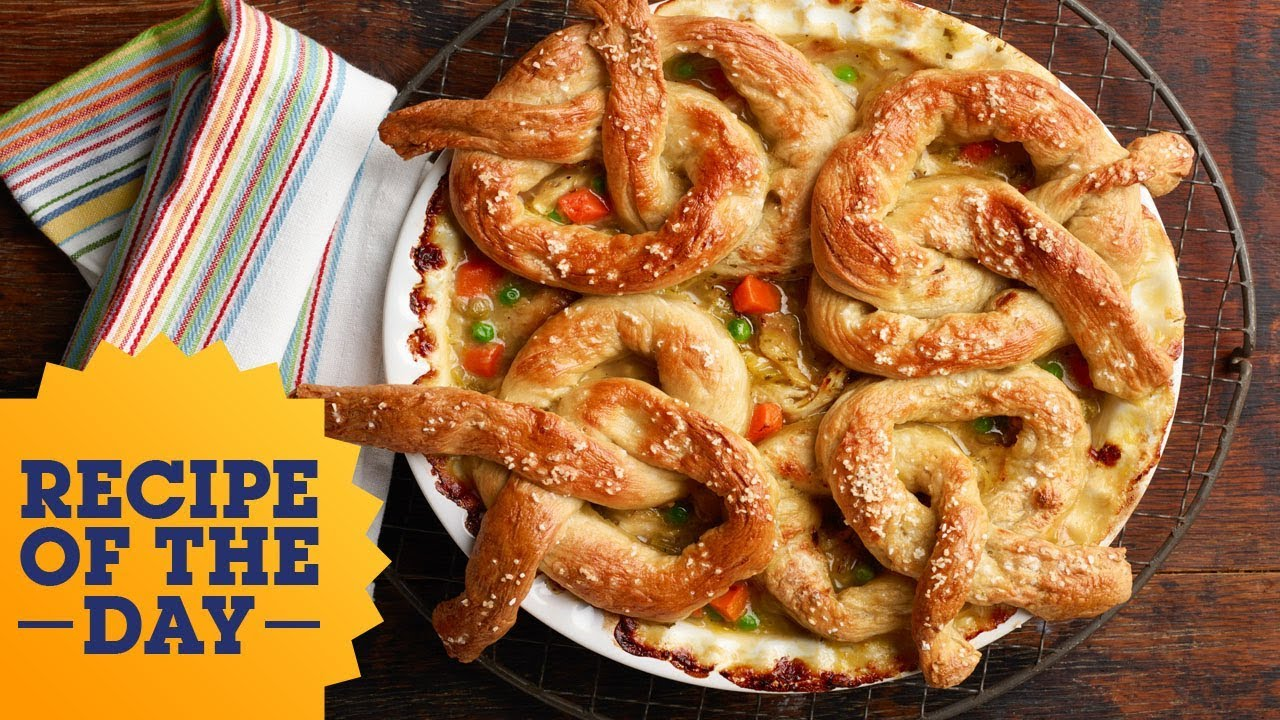 Recipe of the day pretzel pot pie food network youtube recipe of the day pretzel pot pie food network forumfinder Gallery