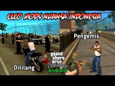 5 Cleo Mods Nuansa Indonesia - GTA SA Android