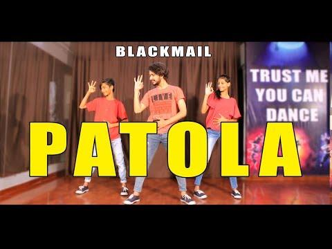 Patola Dance Choreography | Blackmail | Vicky Patel | Guru randhawa