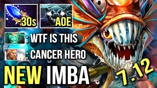 WTF -30s CD ALL INVISIBLE Scepter Slark Cancer Ulti Epic Fun Gameplay by Bulldog Dota 2