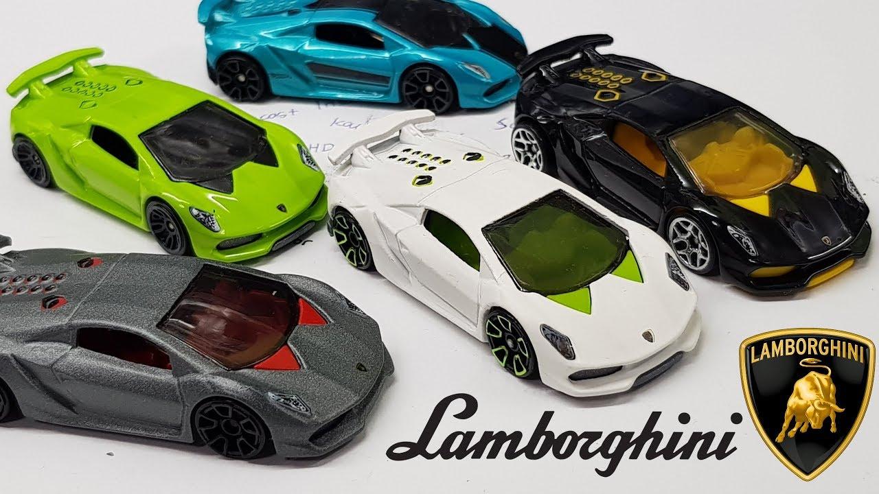 All Of My Hot Wheels Lamborghini Sesto Elemento Youtube