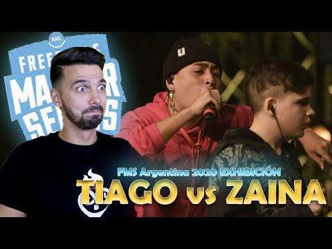 Download ZAINA vs TIAGO | FMS Argentina 2020 | Jornada 2 - La FMS Argentina NECESITA a TIAGO.
