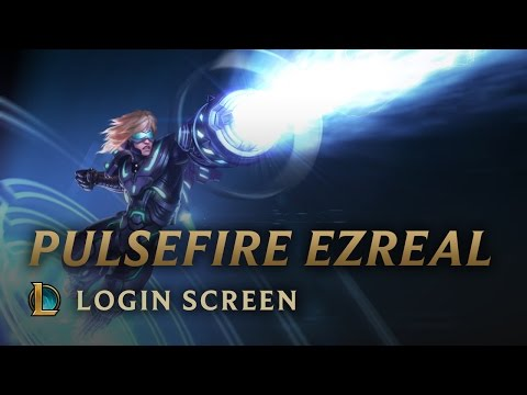 Pulsefire Ezreal | Login Screen - League of Legends