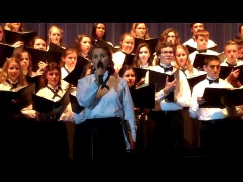 "Julia Harrer - ""I Dreamed a Dream"" Les Mis medley at Bishop Shanahan high school concert"