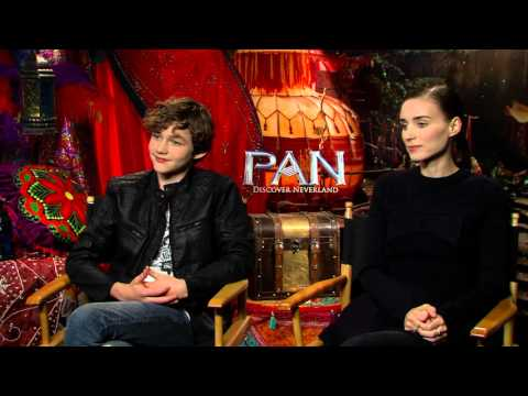 Pan: Rooney Mara & Levi Miller Official Movie Interview