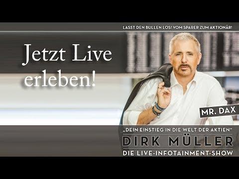 Lasst den Bullen los! Die große Live-Show mit Dirk Müller