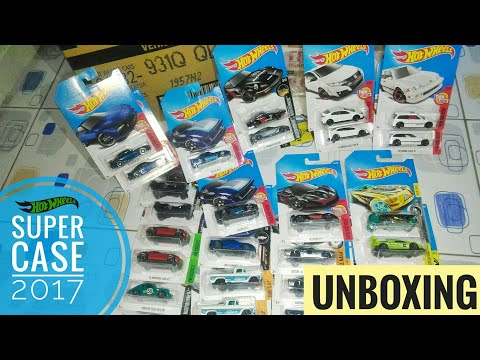 UNBOXING HOTWHEELS CASE/LOT Q 2017 INDONESIA - TREASURE HUNT REG PHARODOX, NISSAN FAIRLADY Z