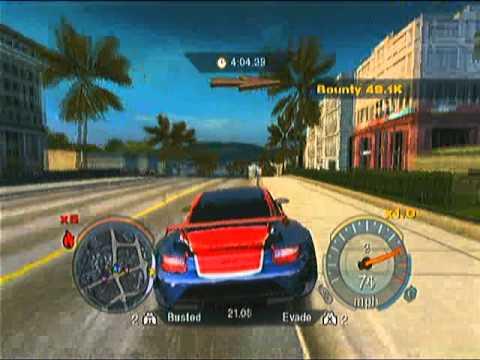 NFS Undercover (Wii) Betrayed Driver Job