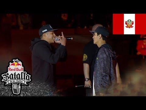 CARLITOS vs GHOST - Octavos: Final Nacional Perú 2017 - Red Bull Batalla de los Gallos