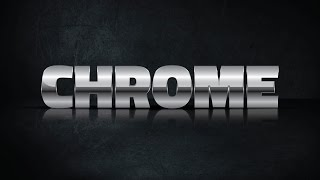How to create CHROME text effect in Adobe Illustrator CS5 HD1080p