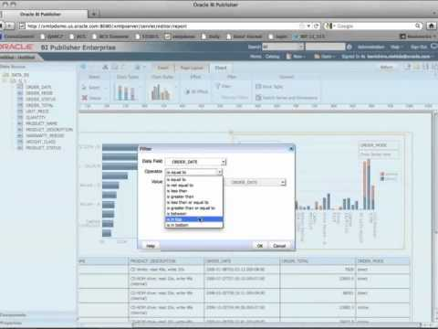 Create 1st Report with BI Publisher