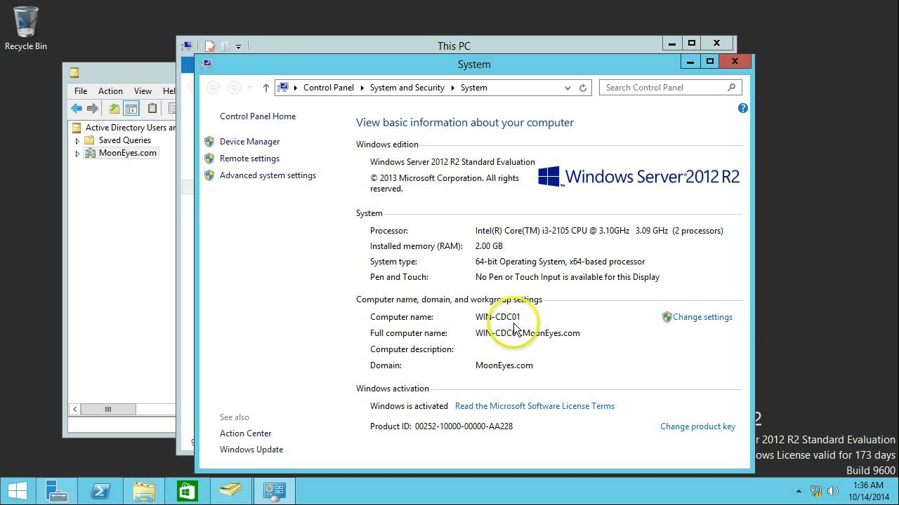 Phương pháp cách Tạo Miền Con Trong Win Server 2012