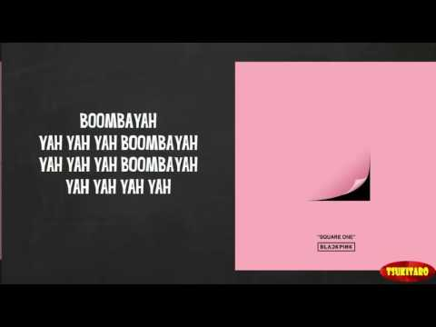 BLACKPINK - BOOMBAYAH Lyrics (easy Lyrics)