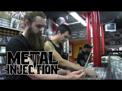 WILD THRONE Goes Shopping For Vinyl | Metal Injection
