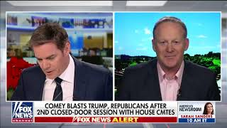 Spicer  Comey trying to deflect from his failures at FBI Fox News