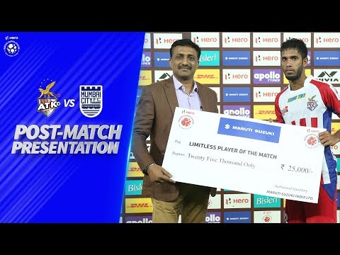 Post-Match Presentation - ATK Vs Mumbai City FC | Hero ISL 2019-20