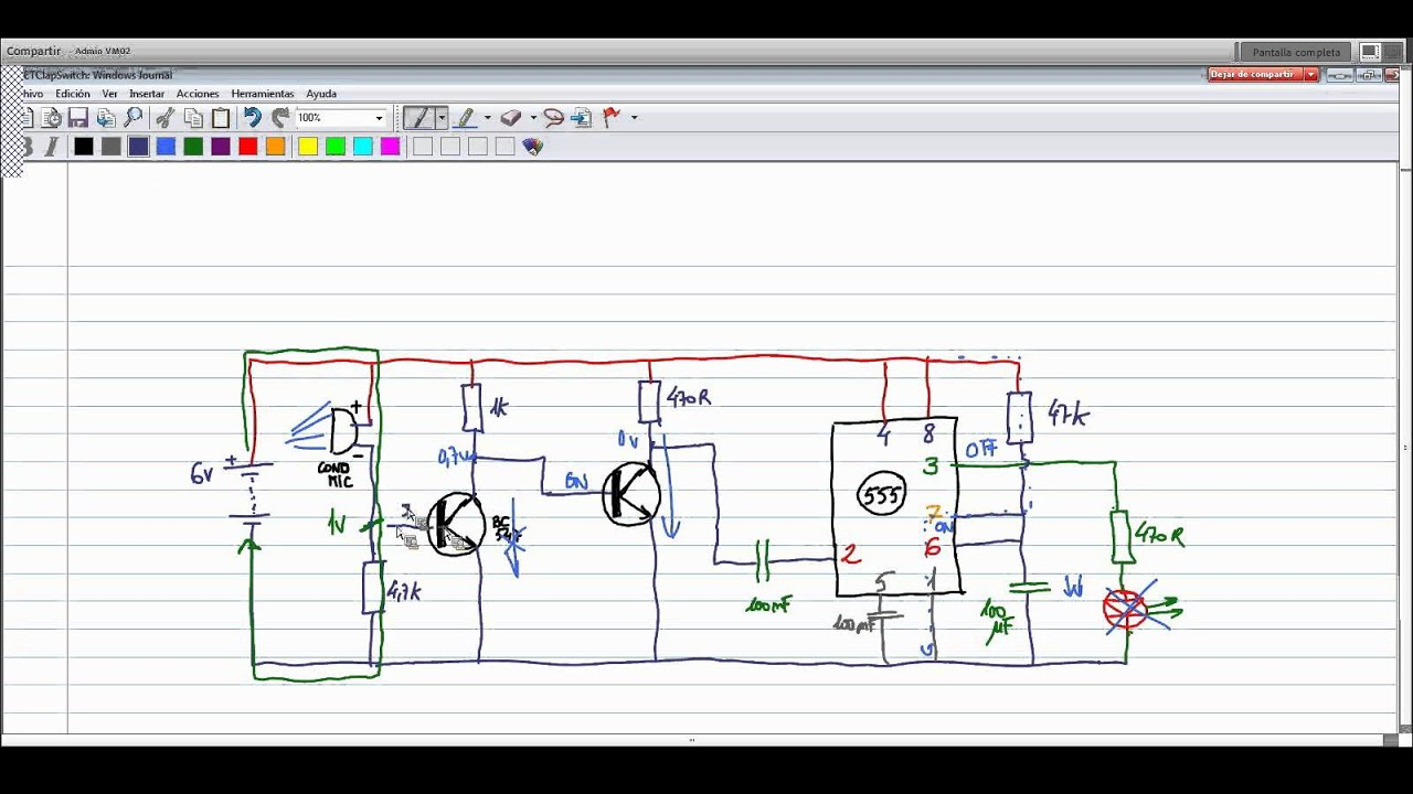 555 Timer Monostable Circuit Working Best Electrical Clap Switch Diagram Using Ic Electrotutorial 097 Detector Ruido Multivibrator Operation