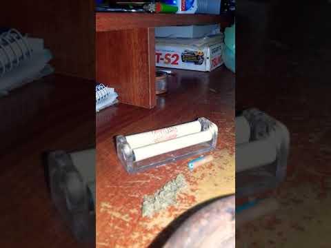 Como usar el Armador (Enrrolador) Armar un Porro Marihuana