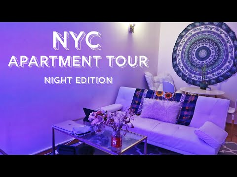 NYC APARTMENT TOUR at NIGHT | Stuytown East Village