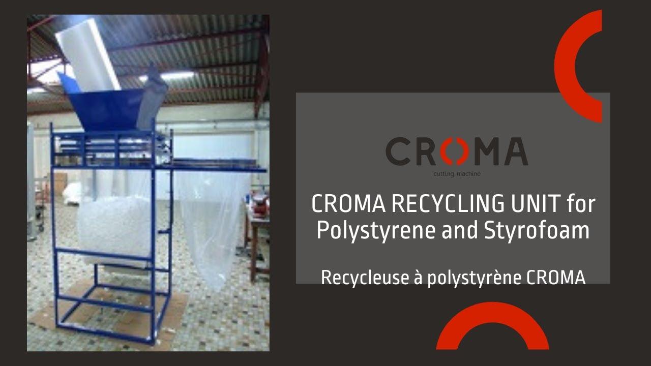 polystyrene styrofoam recycling unit recyclage polystyrene