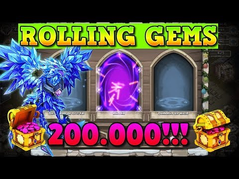 SORTEO + 200K GEMS For LAZULIX | Castle Clash