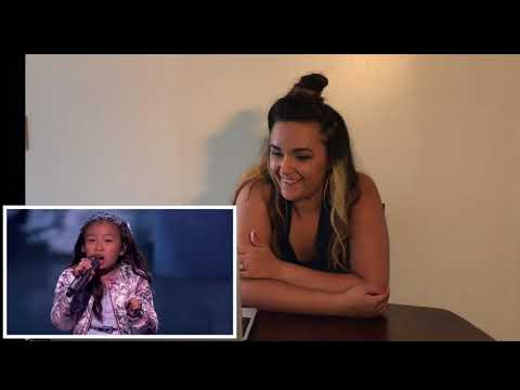 "(Maria' Reacts) Celine Tam: 9-Year-Old Stuns  ""How Far I'll Go"" - America's Got Talent 2017"