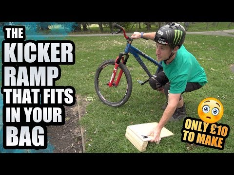 THE MTB KICKER RAMP THAT FITS IN YOUR BAG!
