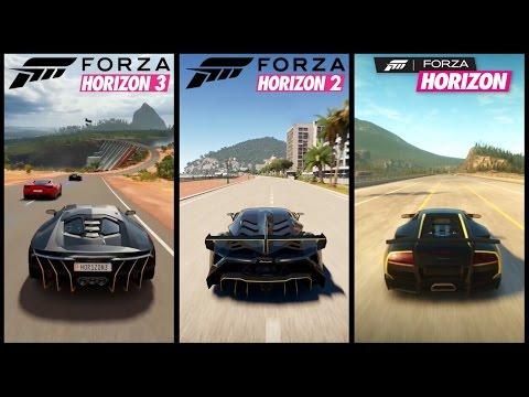 forza horizon 3 vs forza horizon 2 vs forza horizon graphics sound comparison hd youtube. Black Bedroom Furniture Sets. Home Design Ideas