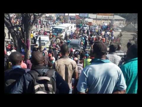 South Africa/Zimbabwe Border-Violent Riots Rock Beitbridge-Protesters Demand Reversal Of Import Ban