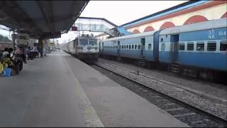 rajdhanai attacks at aligarh station
