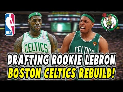 DRAFTING ROOKIE LEBRON JAMES?! 2002 BOSTON CELTICS REBUILD! NBA 2K17 MY LEAGUE