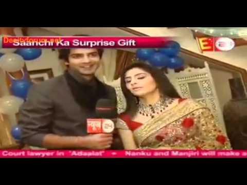 BHPH [On The Sets] Shravan's Surprise Gift To Sanchi