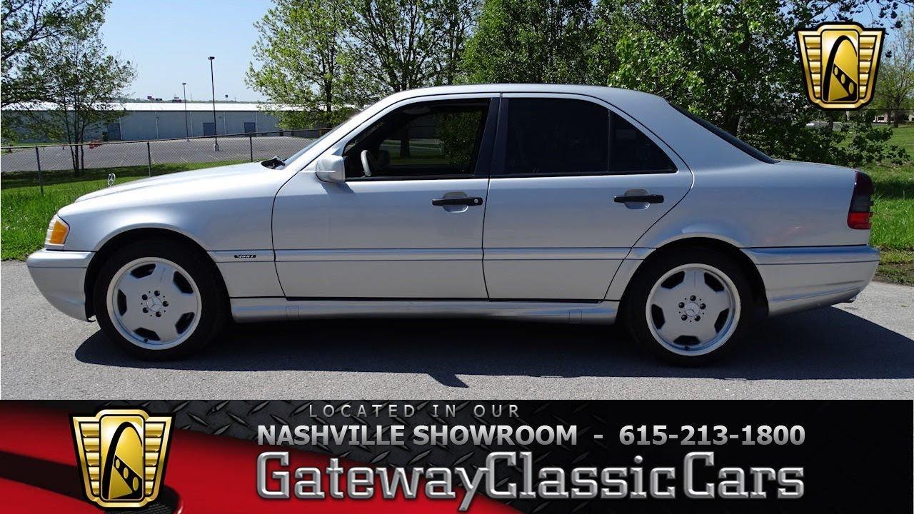 1999 Mercedes Benz C43 Amg Gateway Classic Cars Nashville 775 Youtube