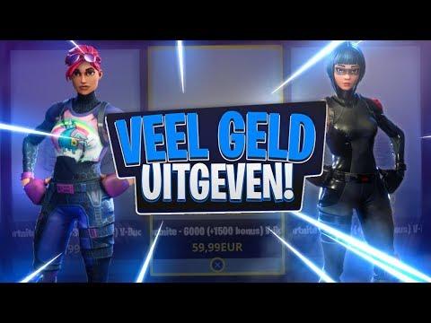 TE VEEL GELD UITGEVEN + LIVE SOLO WIN! | Fortnite Battle Royale (Nederlands/NL)