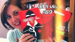 aViviu #89 - Fahrenheit 451 + A Cidade Inteira Dorme + As Crônicas Marcianas