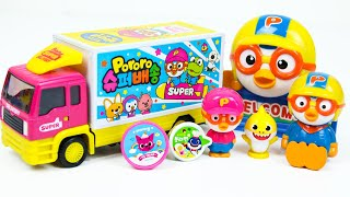 Pororo Delivery truck and Baby Shark Convenience store Toys screenshot 2