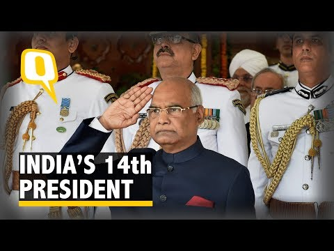 Honoured to Serve India: Ram Nath Kovind Swears in as President - The Quint