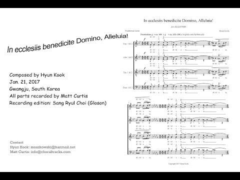 In Ecclesiis Benedicite Domino, Alleluia! - Kook